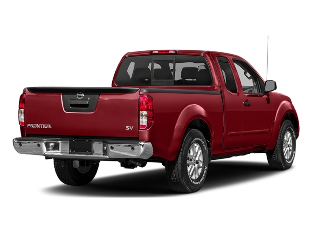Lava Red 2018 Nissan Frontier Pictures Frontier King Cab 4x2 SV V6 Auto photos rear view