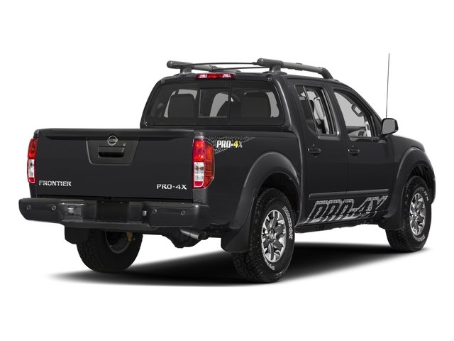 Magnetic Black 2018 Nissan Frontier Pictures Frontier Crew Cab 4x4 PRO-4X Manual photos rear view