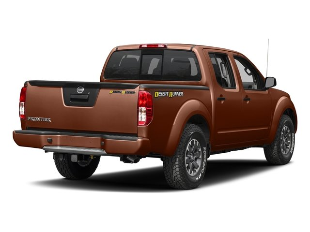 Forged Copper 2018 Nissan Frontier Pictures Frontier Crew Cab Desert Runner 2WD photos rear view