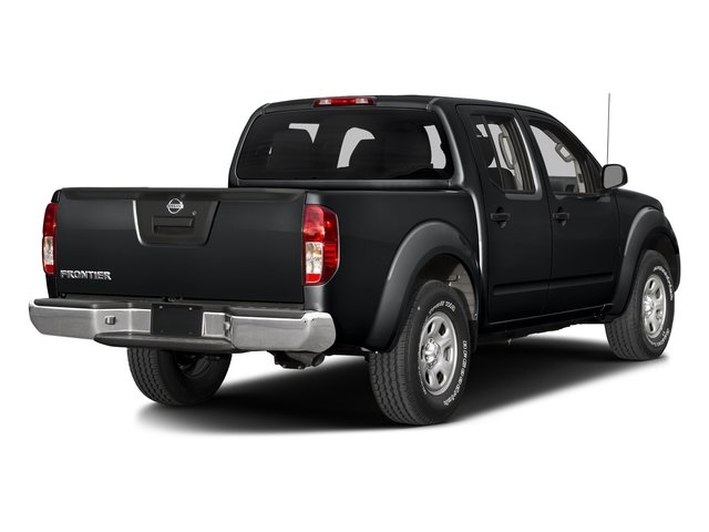Magnetic Black 2018 Nissan Frontier Pictures Frontier Crew Cab 4x4 S Auto photos rear view