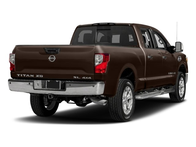 Java Metallic 2018 Nissan Titan XD Pictures Titan XD 4x2 Gas Crew Cab SL photos rear view