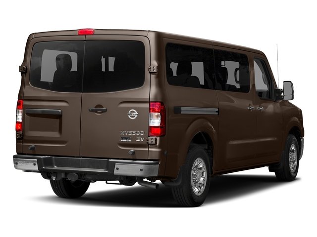 Java Metallic 2018 Nissan NV Passenger Pictures NV Passenger V6 HD SV photos rear view