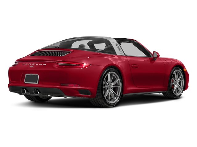 Carmine Red 2018 Porsche 911 Pictures 911 Targa 4 GTS photos rear view