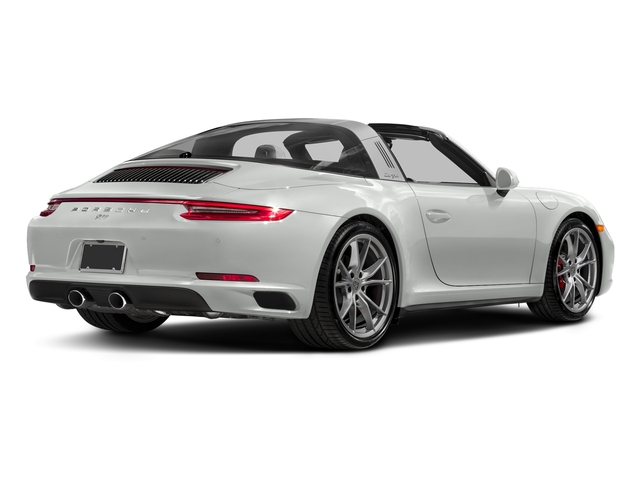 White 2018 Porsche 911 Pictures 911 Targa 4 GTS photos rear view