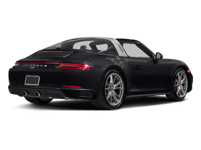 Jet Black Metallic 2018 Porsche 911 Pictures 911 Targa 4 GTS photos rear view