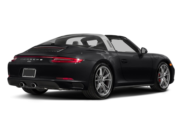 Black 2018 Porsche 911 Pictures 911 Targa 4 GTS photos rear view