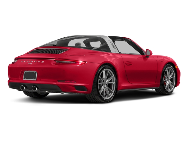 Guards Red 2018 Porsche 911 Pictures 911 Targa 4 GTS photos rear view