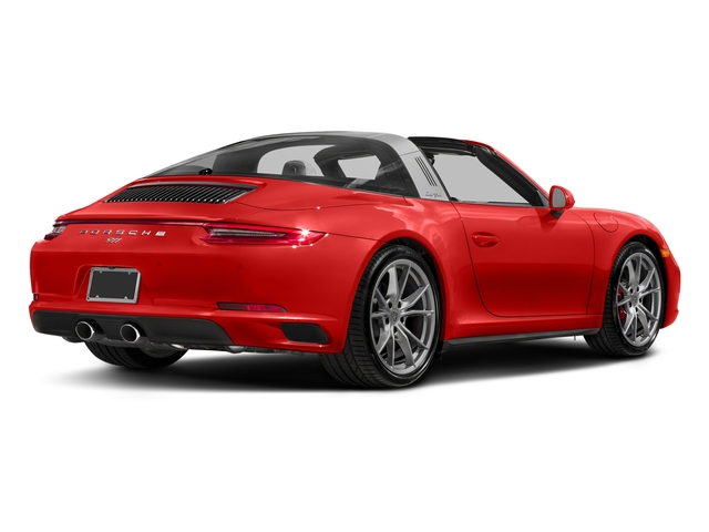 Lava Orange 2018 Porsche 911 Pictures 911 Targa 4 GTS photos rear view