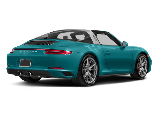 Miami Blue 2018 Porsche 911 Pictures 911 Targa 4 GTS photos rear view