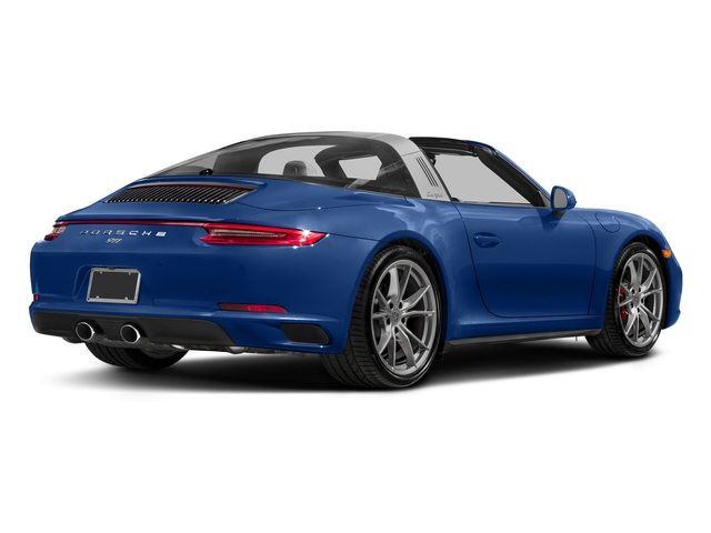 Sapphire Blue Metallic 2018 Porsche 911 Pictures 911 Targa 4 GTS photos rear view