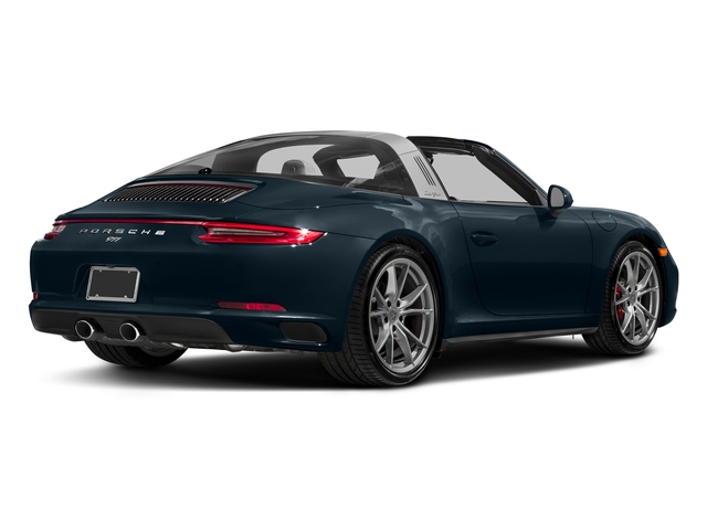 Night Blue Metallic 2018 Porsche 911 Pictures 911 Targa 4 GTS photos rear view