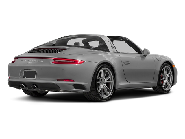 Rhodium Silver Metallic 2018 Porsche 911 Pictures 911 Targa 4 GTS photos rear view