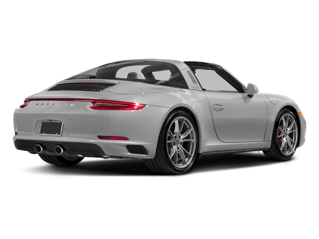 GT Silver Metallic 2018 Porsche 911 Pictures 911 Targa 4 GTS photos rear view