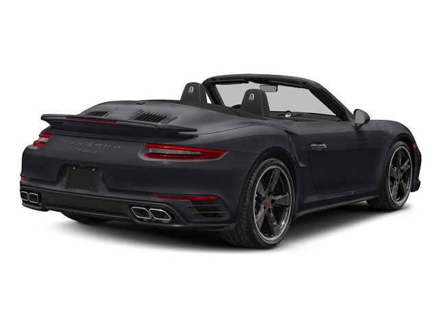 Jet Black Metallic 2018 Porsche 911 Pictures 911 Turbo Cabriolet photos rear view