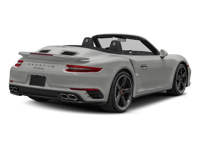 Chalk 2018 Porsche 911 Pictures 911 Turbo Cabriolet photos rear view