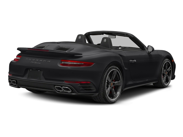 Black 2018 Porsche 911 Pictures 911 Turbo Cabriolet photos rear view