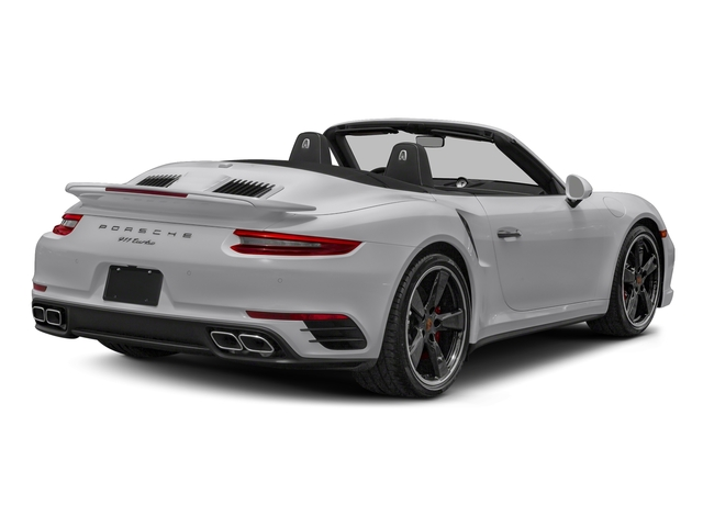 GT Silver Metallic 2018 Porsche 911 Pictures 911 Turbo Cabriolet photos rear view