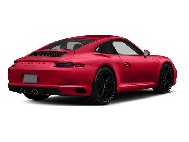 Guards Red 2018 Porsche 911 Pictures 911 Carrera Coupe photos rear view