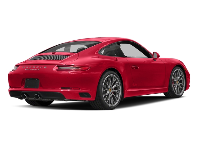 Guards Red 2018 Porsche 911 Pictures 911 Carrera S Coupe photos rear view