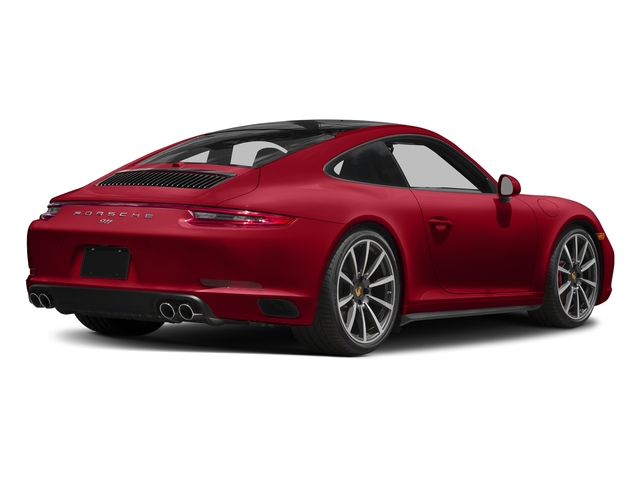 Carmine Red 2018 Porsche 911 Pictures 911 Carrera 4S Coupe photos rear view