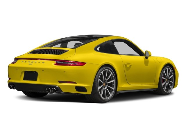 Racing Yellow 2018 Porsche 911 Pictures 911 Carrera 4S Coupe photos rear view