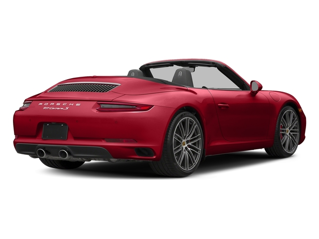 Carmine Red 2018 Porsche 911 Pictures 911 Carrera S Cabriolet photos rear view