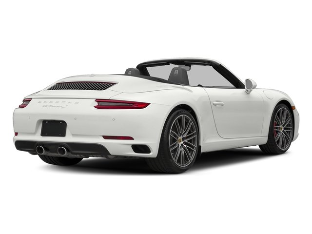 White 2018 Porsche 911 Pictures 911 Carrera S Cabriolet photos rear view