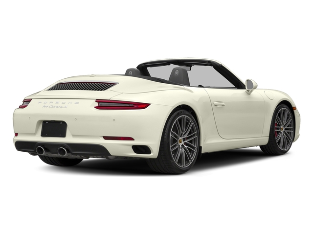 Carrara White Metallic 2018 Porsche 911 Pictures 911 Carrera S Cabriolet photos rear view