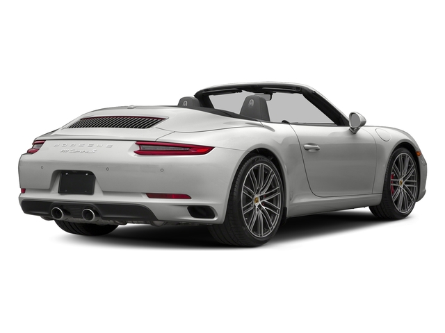 Chalk 2018 Porsche 911 Pictures 911 Carrera S Cabriolet photos rear view