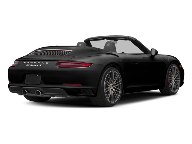 Custom Color 2018 Porsche 911 Pictures 911 Carrera S Cabriolet photos rear view