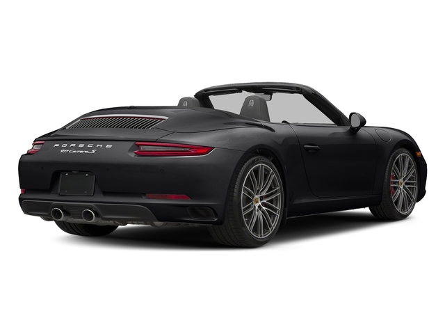 Black 2018 Porsche 911 Pictures 911 Carrera S Cabriolet photos rear view