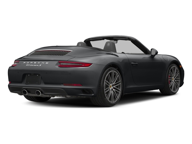 Graphite Blue Metallic 2018 Porsche 911 Pictures 911 Carrera S Cabriolet photos rear view