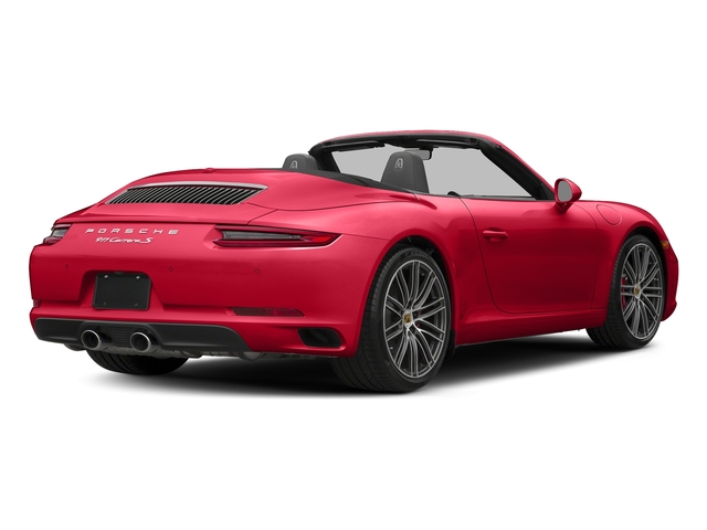 Guards Red 2018 Porsche 911 Pictures 911 Carrera S Cabriolet photos rear view