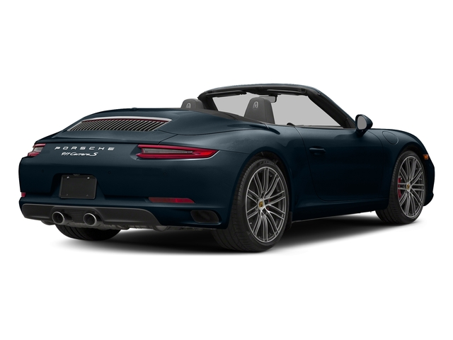 Night Blue Metallic 2018 Porsche 911 Pictures 911 Carrera S Cabriolet photos rear view