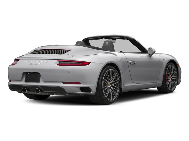 GT Silver Metallic 2018 Porsche 911 Pictures 911 Carrera S Cabriolet photos rear view