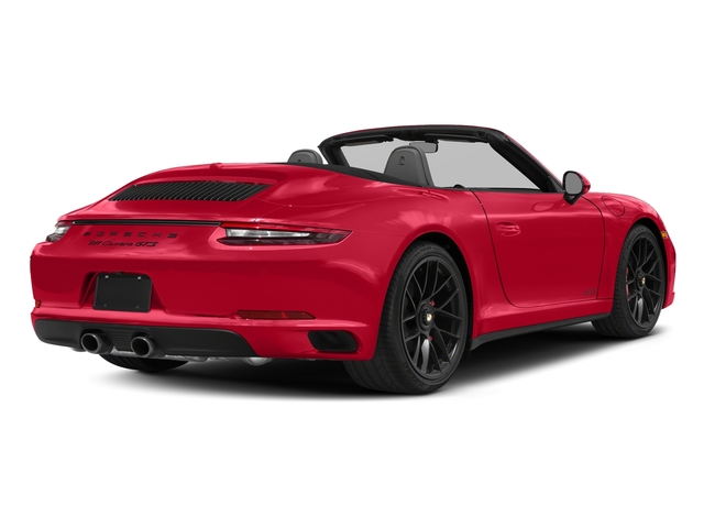 Guards Red 2018 Porsche 911 Pictures 911 Carrera GTS Cabriolet photos rear view