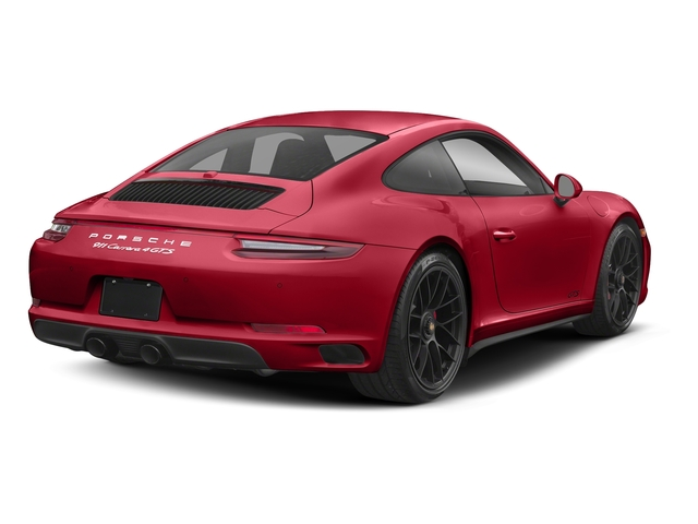 Carmine Red 2018 Porsche 911 Pictures 911 Carrera 4 GTS Coupe photos rear view