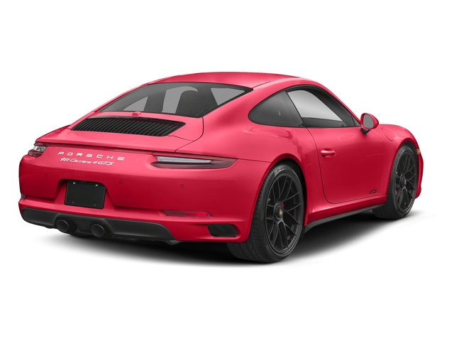 Guards Red 2018 Porsche 911 Pictures 911 Carrera 4 GTS Coupe photos rear view