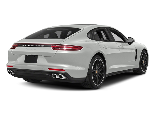 White 2018 Porsche Panamera Pictures Panamera 4S Executive AWD photos rear view