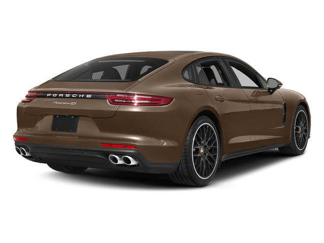 Ristretto Brown Metallic 2018 Porsche Panamera Pictures Panamera 4S Executive AWD photos rear view