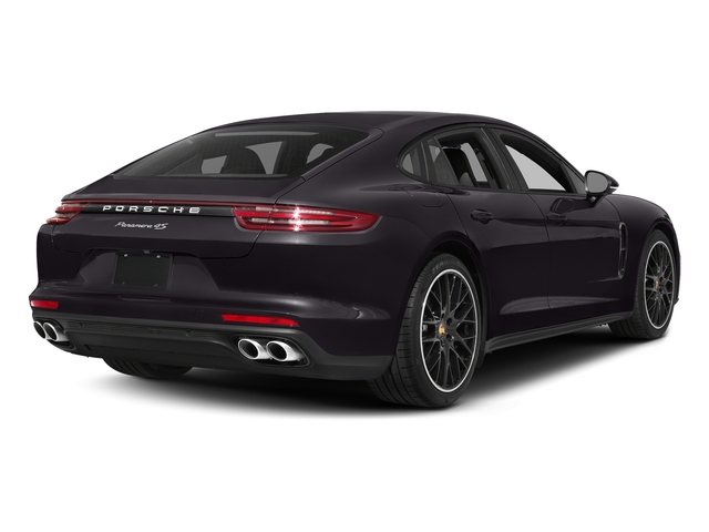 Amethyst Metallic 2018 Porsche Panamera Pictures Panamera 4S Executive AWD photos rear view