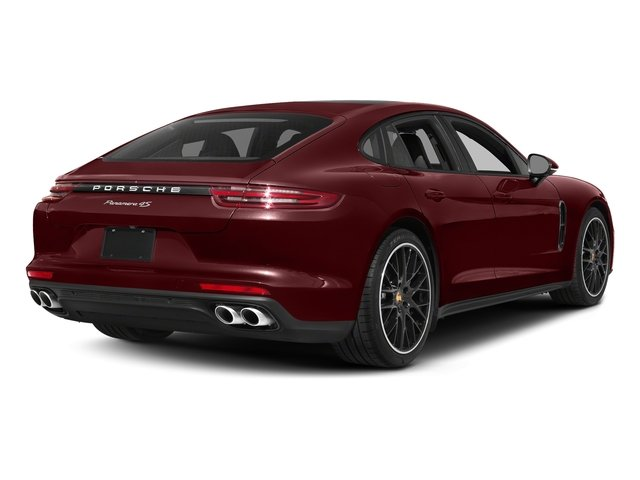 Burgundy Red Metallic 2018 Porsche Panamera Pictures Panamera 4S Executive AWD photos rear view