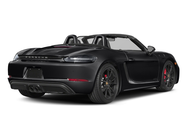 Black 2018 Porsche 718 Boxster Pictures 718 Boxster GTS Roadster photos rear view