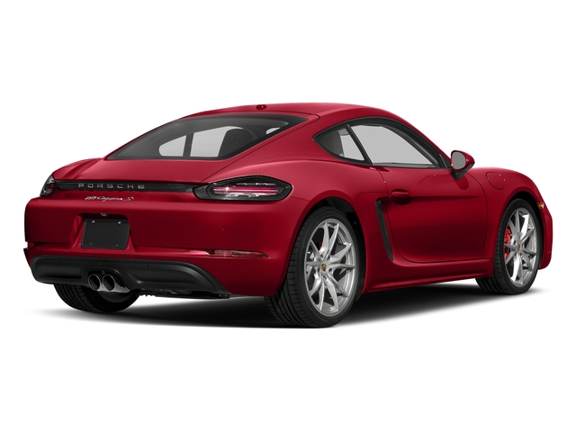 Carmine Red 2018 Porsche 718 Cayman Pictures 718 Cayman S Coupe photos rear view
