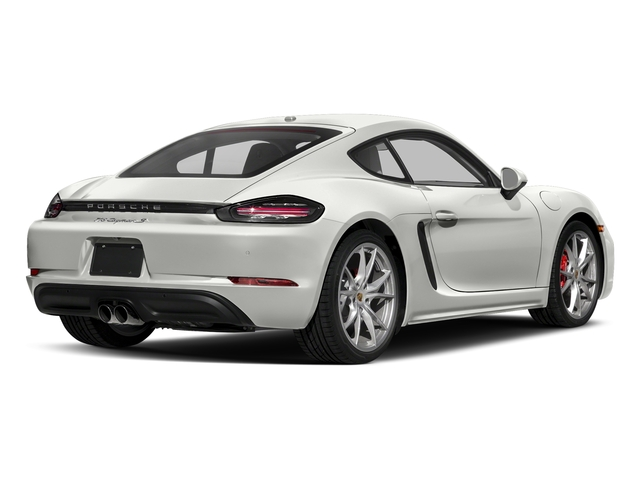 White 2018 Porsche 718 Cayman Pictures 718 Cayman S Coupe photos rear view