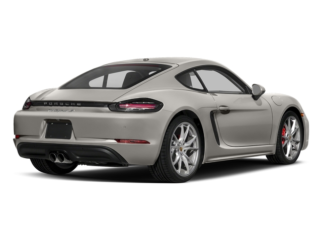 Agate Grey Metallic 2018 Porsche 718 Cayman Pictures 718 Cayman S Coupe photos rear view