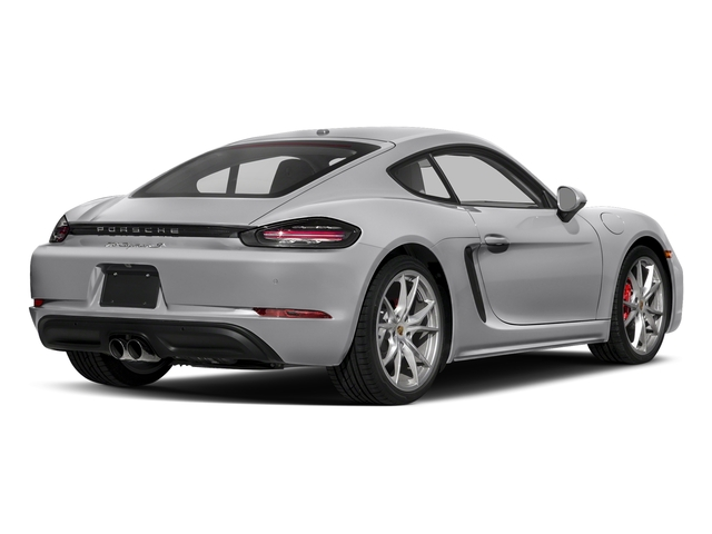 GT Silver Metallic 2018 Porsche 718 Cayman Pictures 718 Cayman S Coupe photos rear view