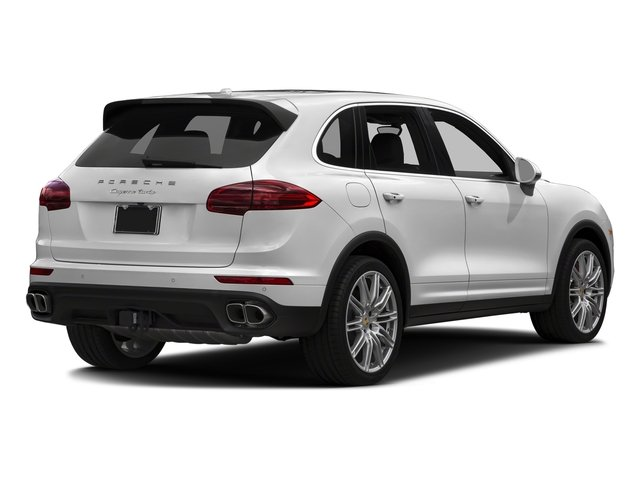 Carrara White Metallic 2018 Porsche Cayenne Pictures Cayenne Utility 4D S AWD V8 Turbo photos rear view