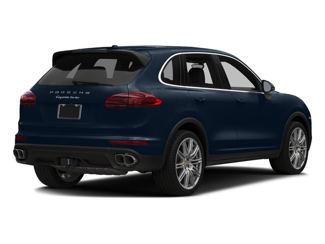 Moonlight Blue Metallic 2018 Porsche Cayenne Pictures Cayenne Utility 4D S AWD V8 Turbo photos rear view