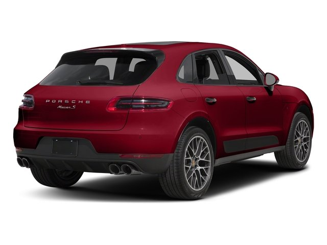 Carmine Red 2018 Porsche Macan Pictures Macan Turbo AWD w/Performance Pkg photos rear view
